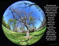 A circular Fisheye Lens Effect