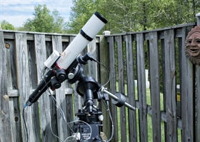 Lunt 80 Solar Telescope with BF3400