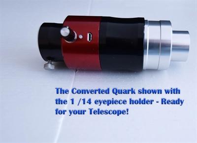 Daystar Camera Quark converted to a regular Quark