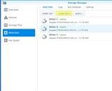 Synology NAS - Locate the bad hard drive